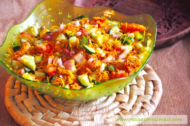 bombay mix salad recipe