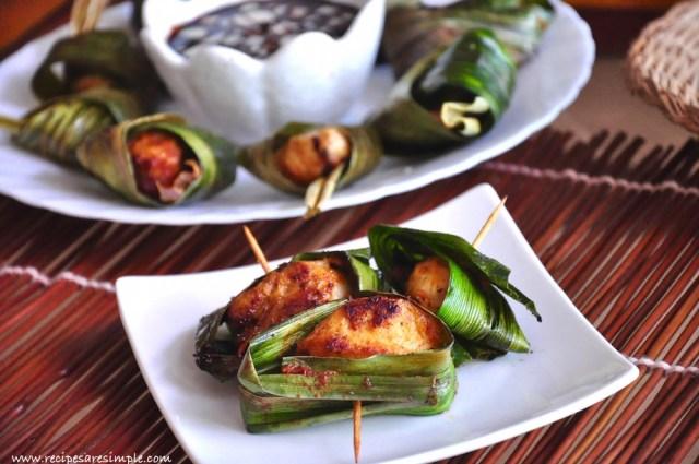 Thai Pandan Chicken Recipe video