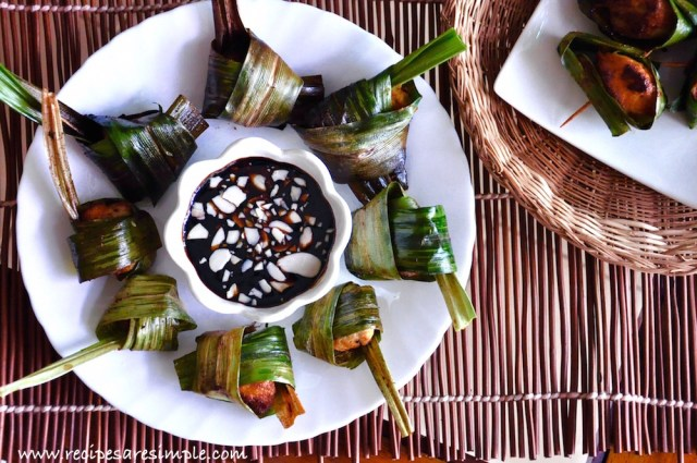 Thai Pandan Leaf Chicken