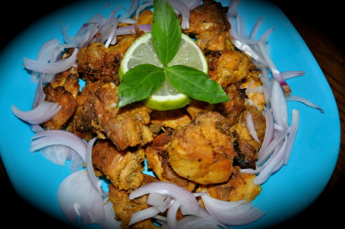 Basil Chicken Tandoor Style 2