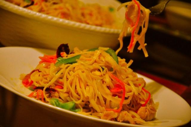 Szechuan Chicken Fried Noodles