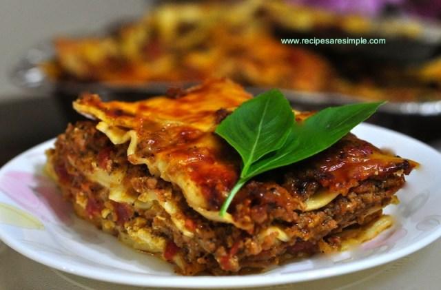 Creamy Style Lasagna