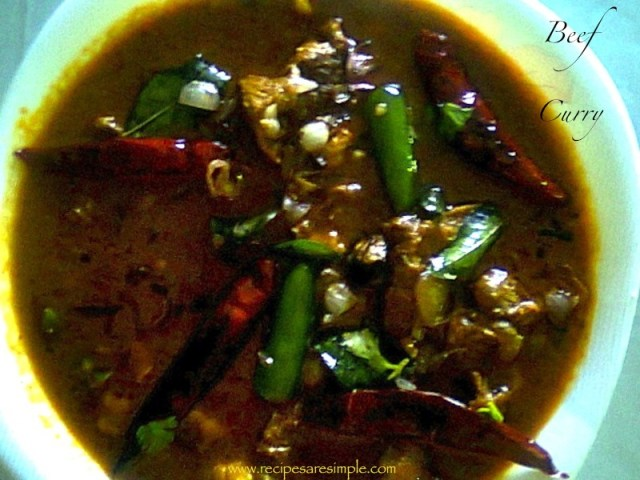 South Indian Beef Curry
