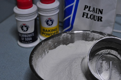 Home Made Nan dry ingredients