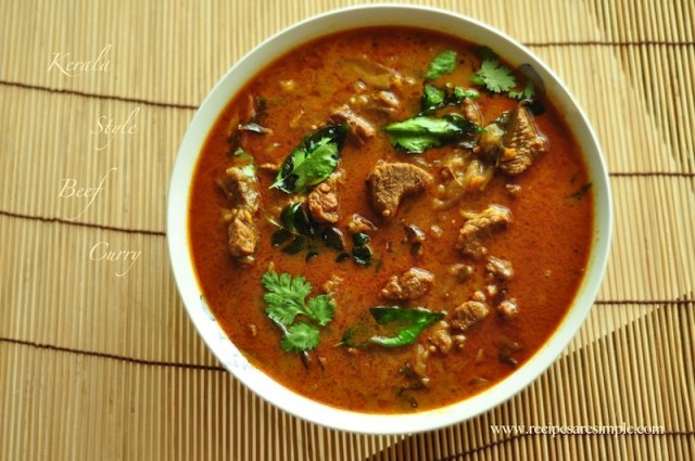 Kerala Beef Curry