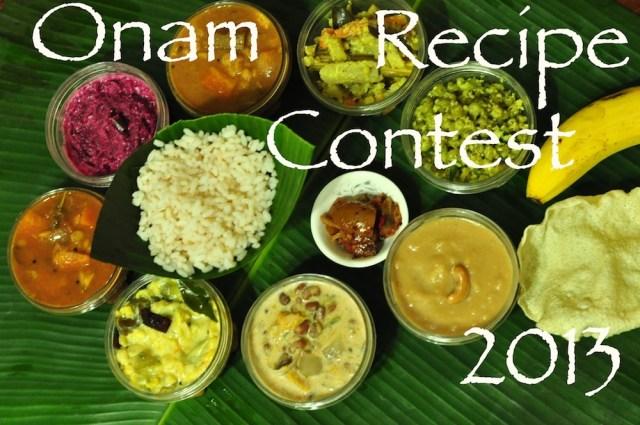Onam Recipe Contest