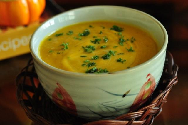 Silky Pumpkin Soup Recipe 3