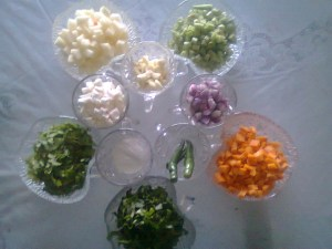 vegetable stew ingredients