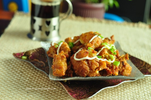 Chilli Gobi - Cauliflower Snack