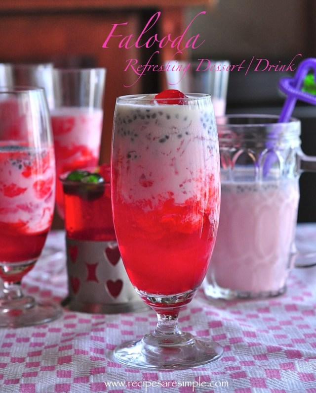 falooda dessert / drink