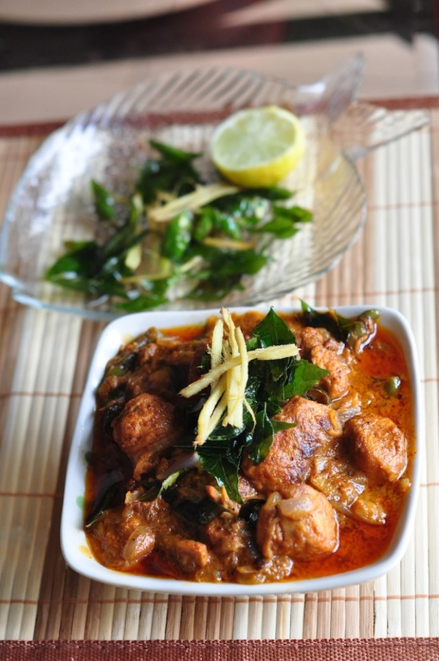 Malabar Fish Curry thick gravy