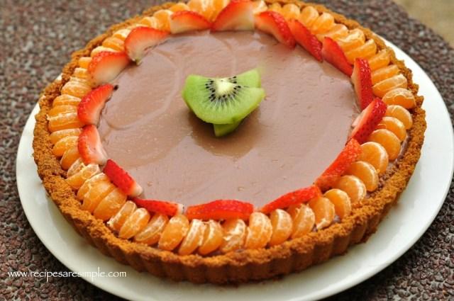 Chocolate Tofu Pie - Chocolate Mousse Pie3