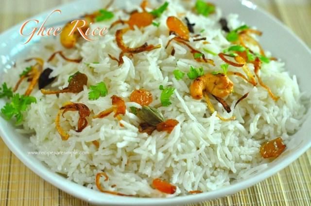 ghee rice