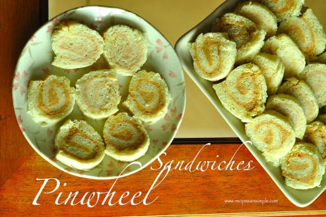 pinwheel sandhiches
