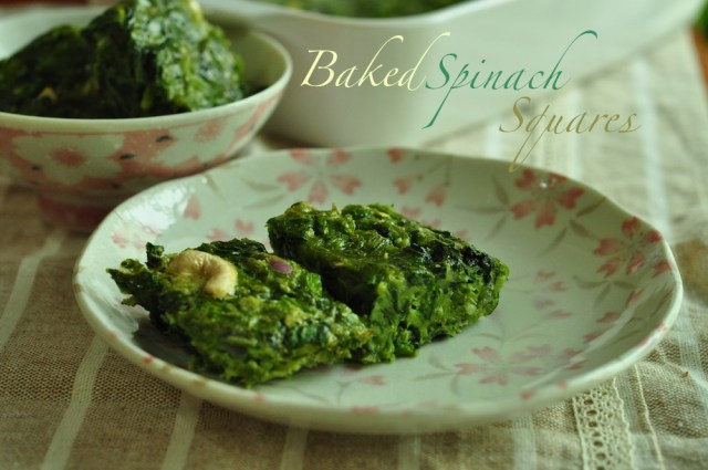 simple baked spinach tasty recipe