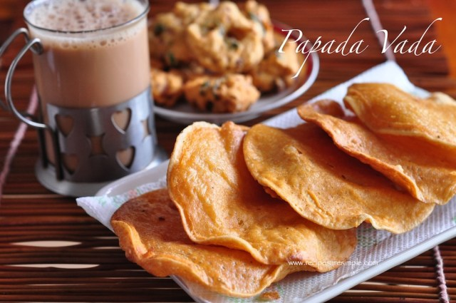 Pappada Vada Recipe