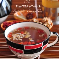 date and ginger tea