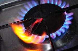 heat charcoal