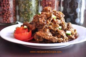 mango chicken kadai recipe video