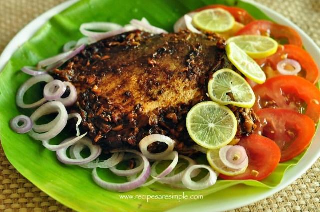 meen pollichathu recipe