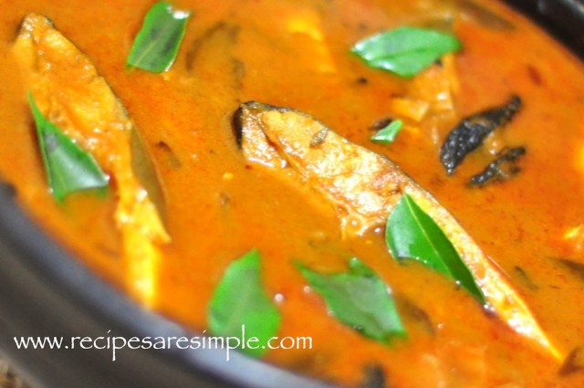 kudampuli MEEN curry