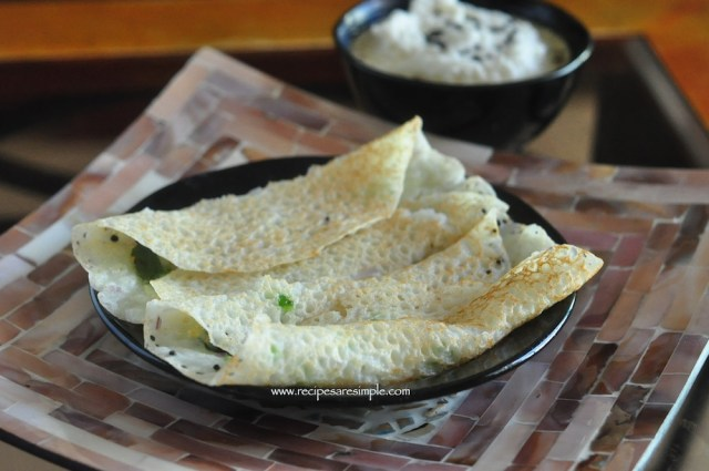 onion rava dosa / thosai recipe