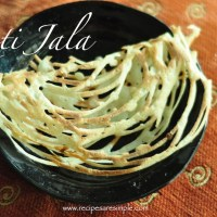 Malaysian roti jala recipe