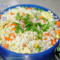 lunch box fried rice