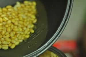 soy milk recipe - add to blender