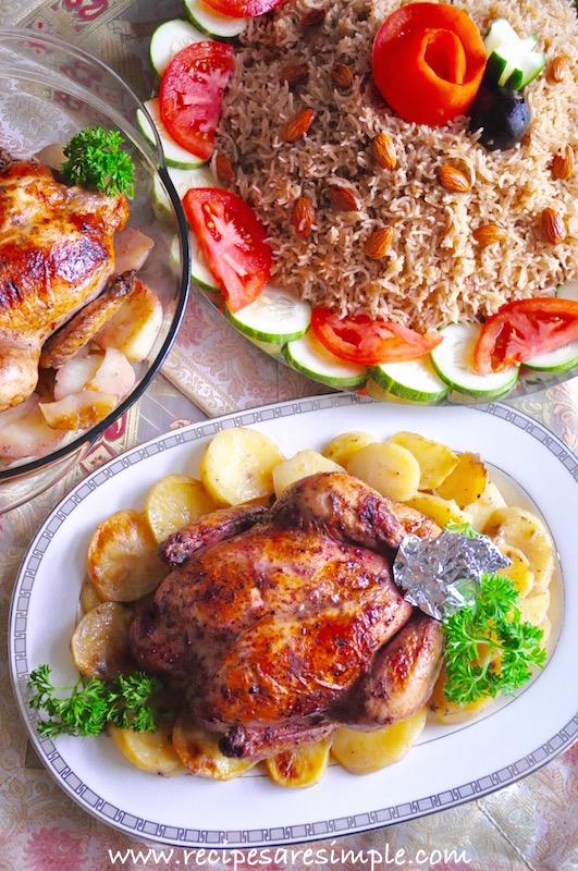 lebanese garlic roast chicken recipe
