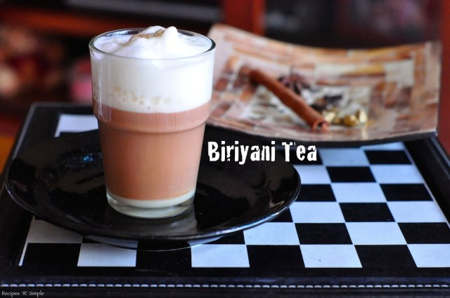 biriyani tea - masala tea 1