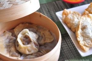 Steamed Mushroom Momo Recipe