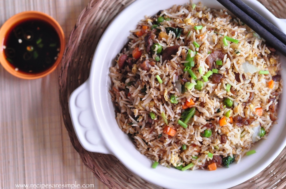 Beef Fried Rice Chinese Reciperecipes R Simple