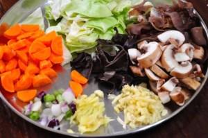 Mu Shu Chicken ingredients