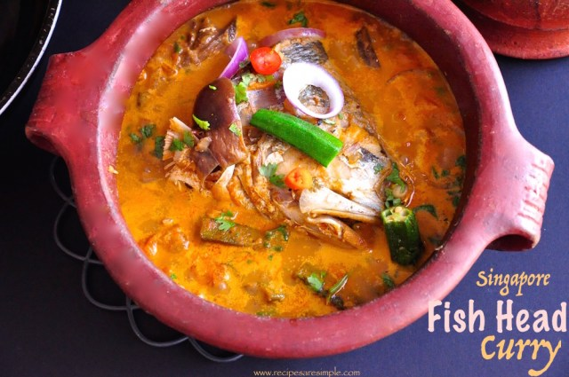 Singapore fish head curry