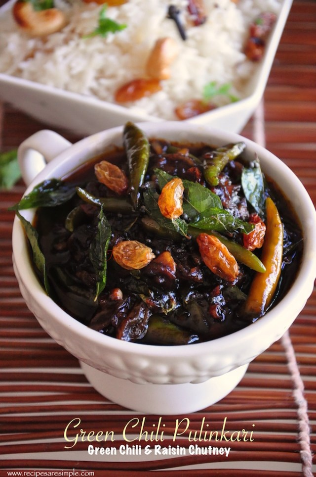 green chili pulinkari