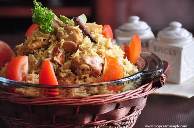 Arabian Biryani Pressure Cooker Recipe