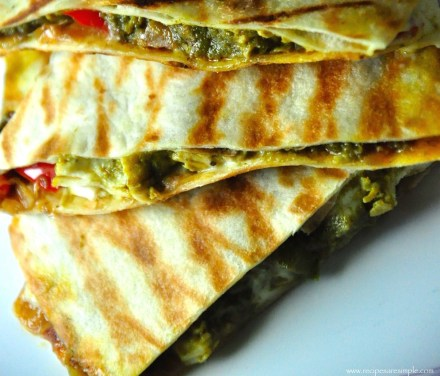 how to use left over palak chicken