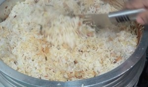malabar fish biryani - mix