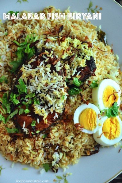 malabar fish biryani recipe