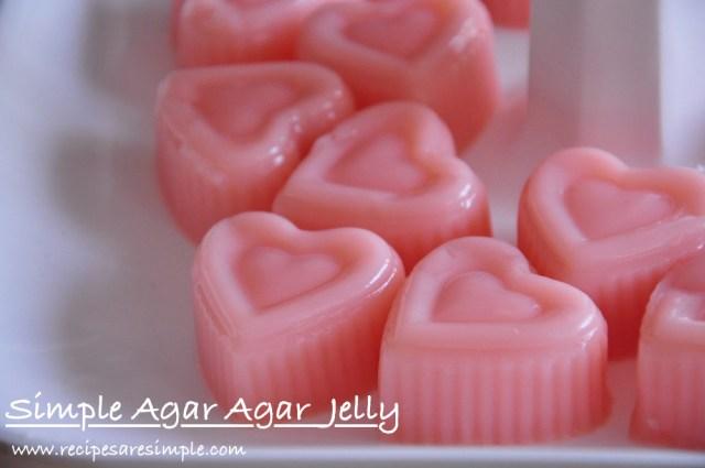 simple agar agar jelly