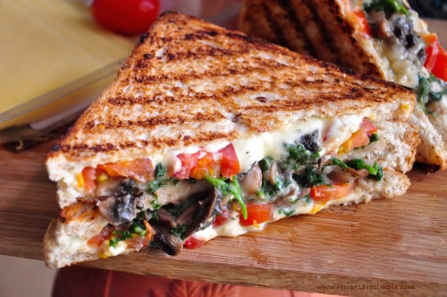 mushroom melts sandwich recipe