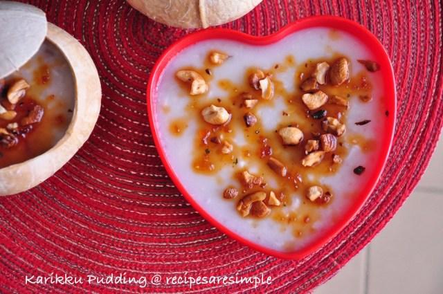 Karikku Pudding recipe