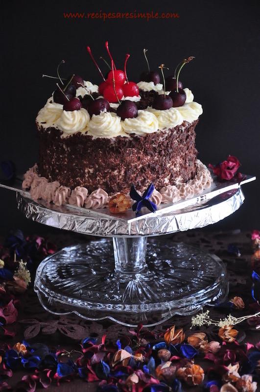 black forest cake recipe video
