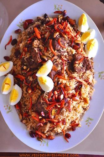 ruz bukhari recipe