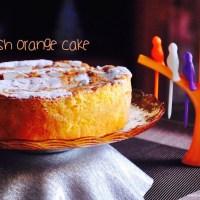 spanish orange cake