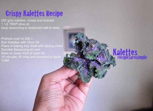 kalettes recipe
