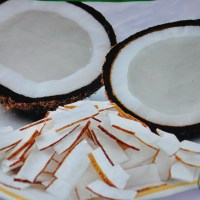 coconut slivers