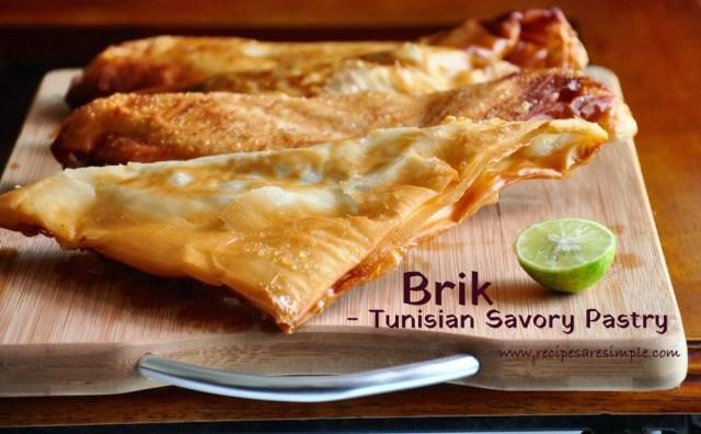 Brik | Delicious Tunisian Pastry