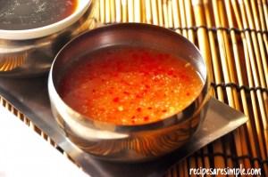 hainanese chicken rice chilli ginger sauce